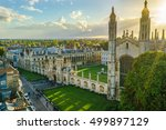 Aerial View Of Kings College...