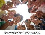 education  friendship  gesture  ... | Shutterstock . vector #499898209