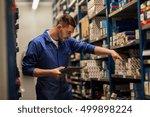 car service  repair ...   Shutterstock . vector #499898224