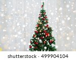 holidays  celebration and home... | Shutterstock . vector #499904104