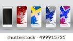 christmas templates for case... | Shutterstock .eps vector #499915735