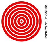 simple easy to print target... | Shutterstock .eps vector #499951405