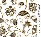 floral pattern. flourish...   Shutterstock .eps vector #499966465