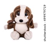 dog stuffed sad | Shutterstock . vector #499979719