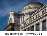 The exterior of the Smithsonian National Museum of Natural History, in Washington, DC.