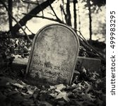 A 19th Century Headstone...