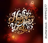 "lettering ""happy new year"".... 