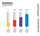 infographic business report... | Shutterstock .eps vector #499992295