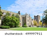 Ancient building in Duke University, North Carolina USA