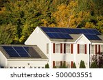 Solar Panel Installed On The...