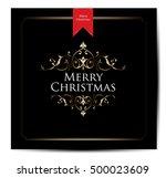 merry christmas    Shutterstock .eps vector #500023609