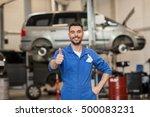 car service  repair ... | Shutterstock . vector #500083231