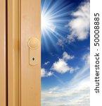door to sky | Shutterstock . vector #50008885