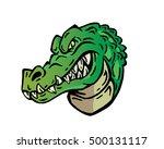 confidence leadership animal... | Shutterstock .eps vector #500131117