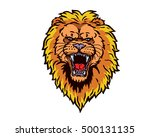 confidence leadership animal... | Shutterstock .eps vector #500131135