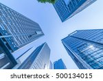common modern business... | Shutterstock . vector #500134015