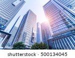 common modern business... | Shutterstock . vector #500134045