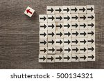 uniqueness  difference ... | Shutterstock . vector #500134321