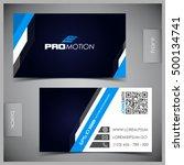 vector abstract creative... | Shutterstock .eps vector #500134741