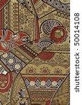 oriental silk fabric pattern | Shutterstock . vector #50014108