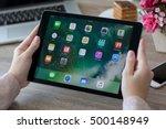 alushta  russia   october 9 ... | Shutterstock . vector #500148949