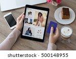 alushta  russia   october 9 ... | Shutterstock . vector #500148955