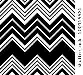 seamless zig zag pattern.... | Shutterstock .eps vector #500159935