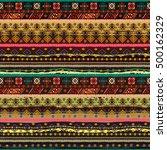ethnicity seamless pattern....   Shutterstock .eps vector #500162329
