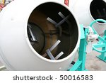 concrete mortar - stock photo