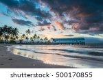 Sun Sets Over The Port Douglas...