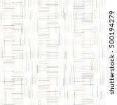 vector seamless monochrome... | Shutterstock .eps vector #500194279