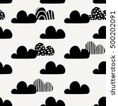 seamless repeating pattern with ... | Shutterstock .eps vector #500202091