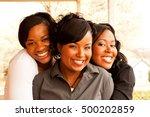 african american women.... | Shutterstock . vector #500202859