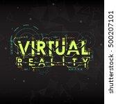 virtual reality. conceptual...