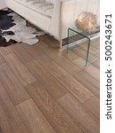 ceramic floor wood style | Shutterstock . vector #500243671