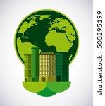 city green ecology cityscape... | Shutterstock .eps vector #500295199