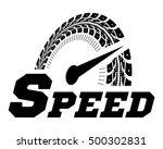 speedometer vector illustration....   Shutterstock .eps vector #500302831