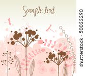 gorgeous nature theme...   Shutterstock .eps vector #50033290
