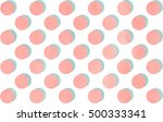 watercolor light pink and and... | Shutterstock . vector #500333341