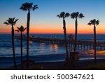 Beautiful Ocean Sunset At San...