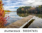 vibrant autumn colors on the... | Shutterstock . vector #500347651