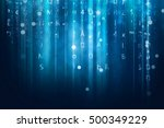 computer data stream background | Shutterstock . vector #500349229