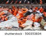 Hot Coals Of The Grill