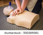 Cpr Training Using A Breathing...