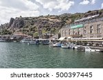 behramkale assos  turkey  ... | Shutterstock . vector #500397445