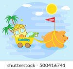 business concept   asset or... | Shutterstock .eps vector #500416741
