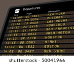 Departure Board   Destination...