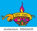 diwali price tag banner | Shutterstock .eps vector #500426335