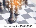 Traditional Tin Chess Pieces O...