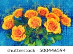 Bouquet Of Yellow Roses....
